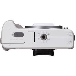 Canon EOS M50 Mirrorless Camera Body - White Thumbnail Image 7